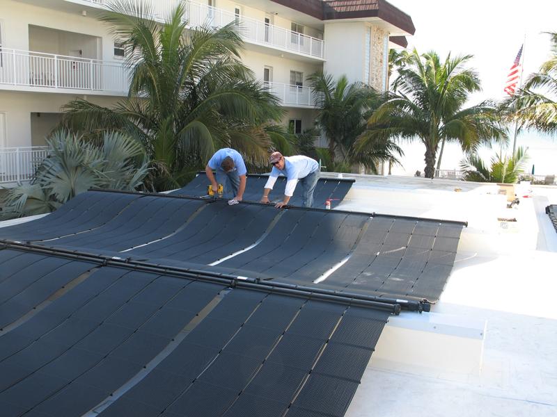 Lido Beach Swimming Pool Solar Heating System Elite Weiler Pools