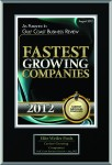 2012 August Gulf Coast Business Review - Fastest Growing Companies