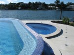 Luxury waterfront residential pool & spa