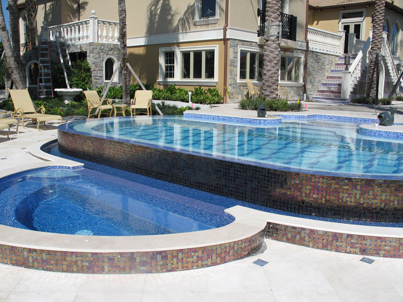 Luxury Residential Pool Amp With Infinity Edge And Custom