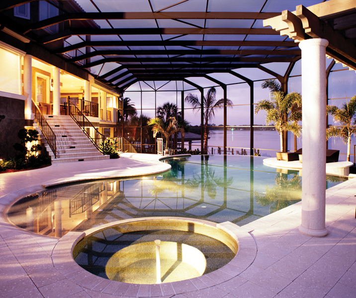 Residential Swimming Pool Builders Sarasota Residential