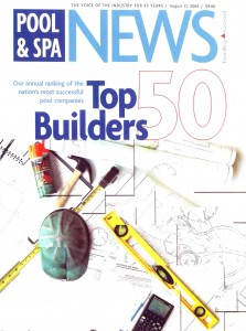 Top 50 Pool Builders - Pool & Spa News Names Elite Weiler Pools in Top 50