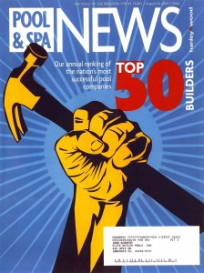 Pool and Spa News August 2007 Top 50 Cover