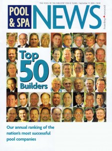 Pool and Spa Top 50 Builders 2004