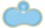 Figure 8 Pool with Spa