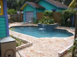Custom Greek Shaped Pool