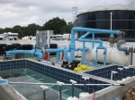 Large scale pool equipment