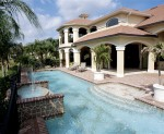 Custom Residential Pool & Spa with Fountains