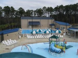 solar heated pool - McLean Park Talahassee