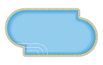 Offset Oval Pool