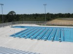 Commercial Pool with Dive Well at Oyster Creek Golf Club