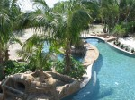 Large Scale Custom Residential Pool with Rock Grotto