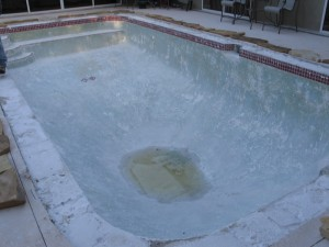 Residential Pool Before Renovation