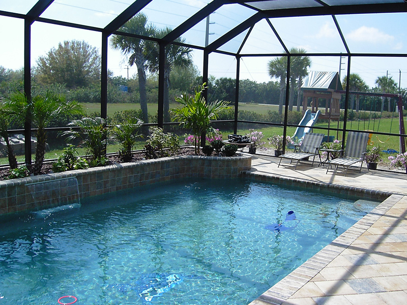 residential swimming pool builders sarasota residential pool construction. Black Bedroom Furniture Sets. Home Design Ideas