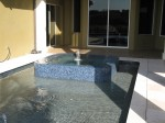 Custom Residential Pool & Spa with tile