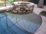 Custom Residential Pool & Spa with Beach Entry