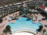 Ruby Lake Hilton Custom Pool: The Hilton Grand Ruby Lakes is a 2-twin 14-story residential and lodging facility that is centrally located between Sea World, Disney and Universal Theme Parks.