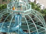 4 Story Slide at Ruby Lake Hilton: The Hilton Grand Ruby Lakes is a 2-twin 14-story residential and lodging facility that is centrally located between Sea World, Disney and Universal Theme Parks.