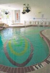 Indoor pool designed by Elite-Weiler Pools at the Sarasota Airport Hilton