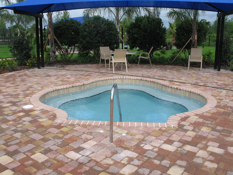 Sarasota commercial swimming pool builders for Pool designs venice