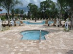 Spa and Pool at the Venetian Golf & River Club, Venice, FL