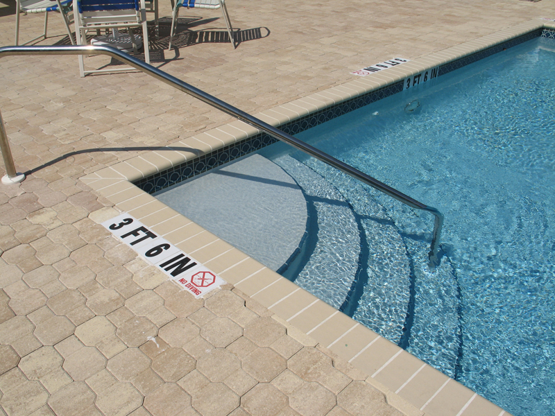 Swimming Pool Selection Wedding Cake Steps Elite Weiler Pools
