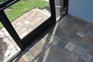 Outdoor entry pad