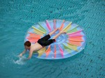sarasota swimming pool builder - pool float